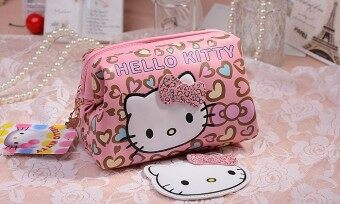 Harga Hello Kitty Korean-style fashion cosmetic bag cute cosmetic bag