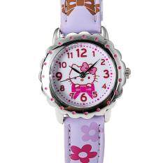 Hello Kitty quartz watch HKFR1456-02B (purple) Malaysia