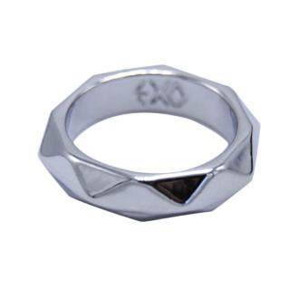 Harga Hequ Fashion Fashion idol inspired by celebrities star EXO goldjewelry engraved stainless steel EXO Kpop k
