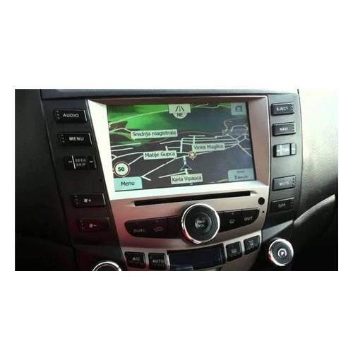 """HONDA ACCORD 2.0 2003 - 2007 8 Full HD Double Din GPS DVD DIVX VCD MP3 CD USB SD Bluetooth TV Player Free Camera & TV Antenna"""""""