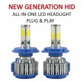 Honda Accord 2003 (Low Beam Head Lamp) Z2 LED Light Car Headlight Auto Head light Lamp 6000k White Light