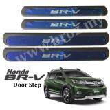 Broz Honda BRV BR-V Blue Side Steel Plate/Door Side Step