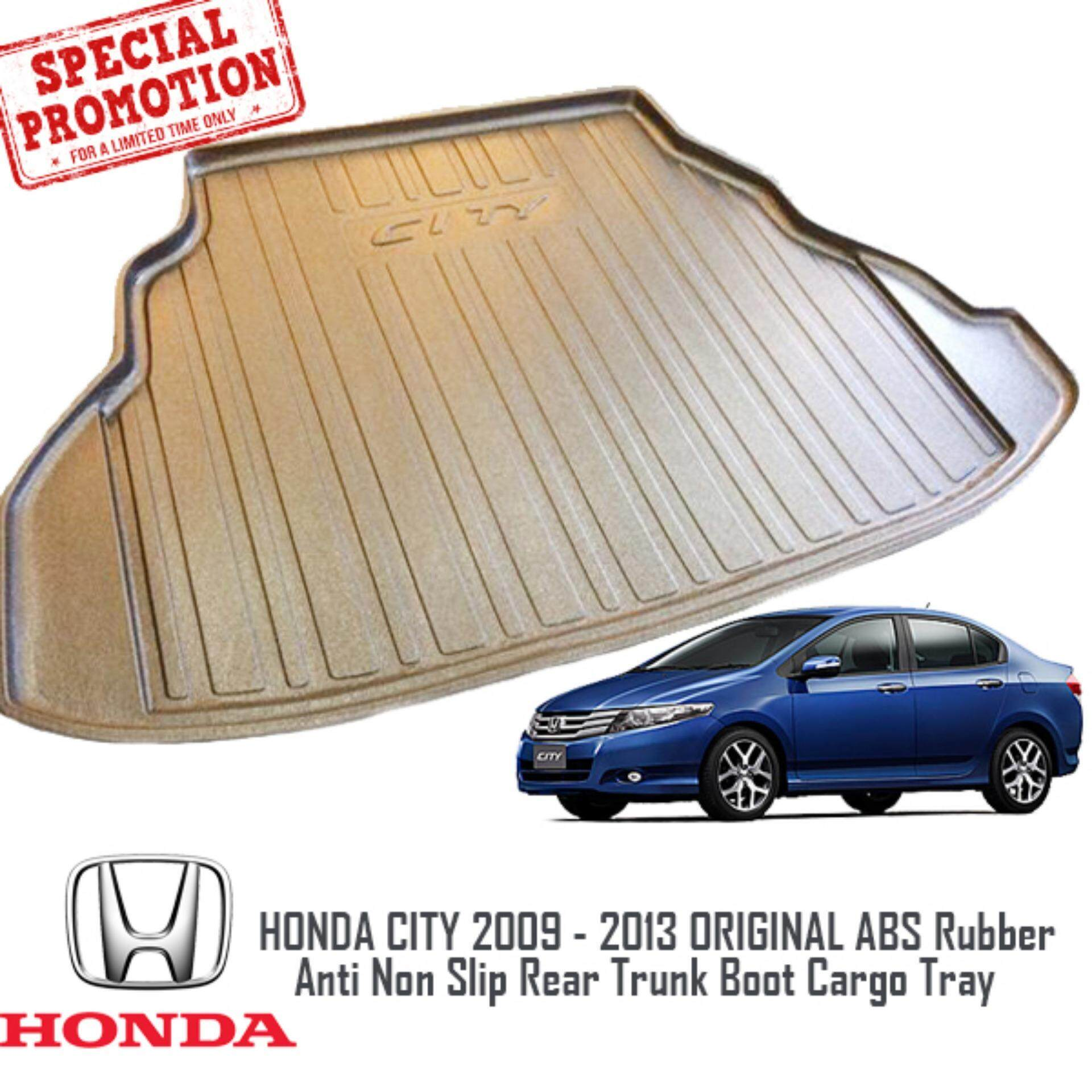 HONDA CITY 2009 - 2013 ORIGINAL ABS Non Slip Rear Trunk Boot Cargo Tray
