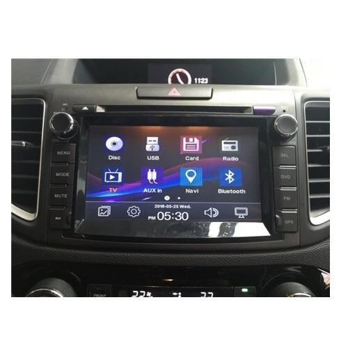 "HONDA CRV 2013 - 2016 DLAA 8 Full HD LED Double Din GPS DVD DIVX VCD MP3 CD USB SD IPOD BLUETOOTH TV Player Free TV Antenna"""
