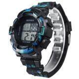 Hot Sale!Fashion Mens Digital LED Analog Quartz Alarm Date Sports Wrist Watch - 3