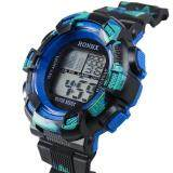 Hot Sale!Fashion Mens Digital LED Analog Quartz Alarm Date Sports Wrist Watch - 4