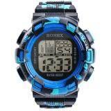 Hot Sale!Fashion Mens Digital LED Analog Quartz Alarm Date Sports Wrist Watch - 2