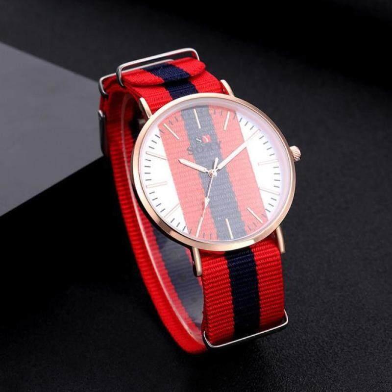 Hot Sale!Women Men Band Analog Quartz Business Wrist Watch BU Malaysia