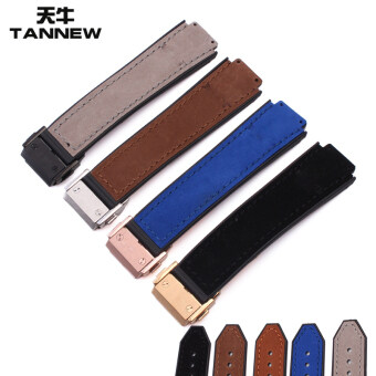 Harga Hublot 15mm TANNEW rubber watch strap