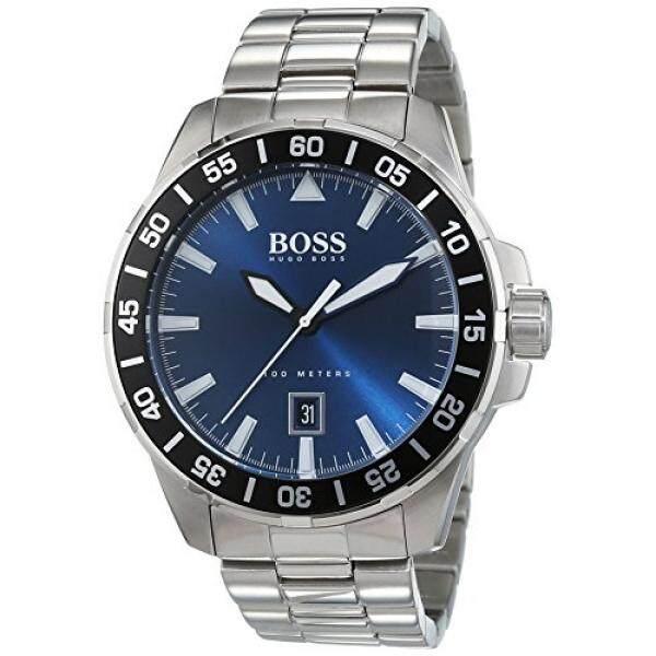 Hugo Boss Herren-Armbanduhr Dalam Laut Analog Quarz Edelstahl 1513230-Internasional