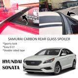 Broz Hyundai Sonata Samurai Carbon Rear Top Windscreen OEM Glass Spoiler (4.5cm)