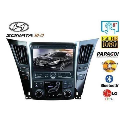 "HYUNDAI SONATA YF i45 2010 - 2014 DLAA 8 Double Din GPS DVD DIVX VCD MP3 CD USB SD Bluetooth TV Player Free Camera & TV Antenna"""