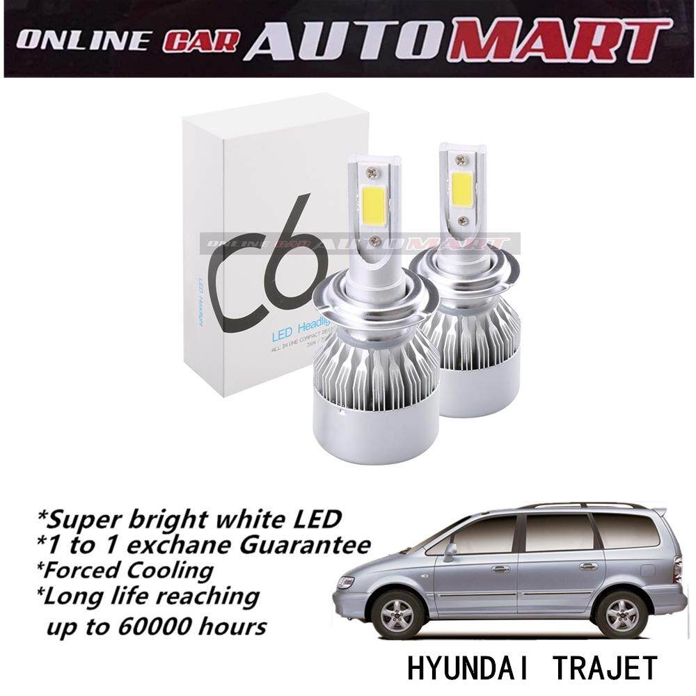 Hyundai Trajet-C6 LED Light Car Headlight Auto Head light Lamp 6500k White Light
