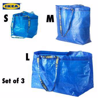 IKEA BRATTBY and FRAKTA Carrier Bag S, M, L ( Set of 3 )