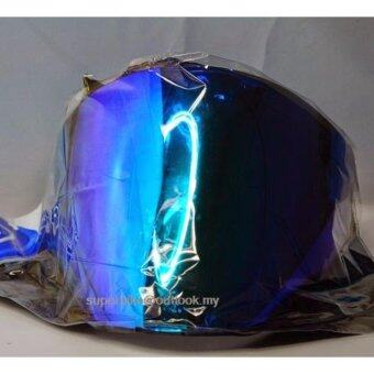 Harga ARC Ritz Visor-Blue with RAINBOW REFLECTION