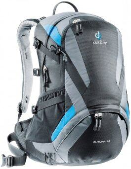 Harga Deuter Futura 22 Hiking Backpack Black Titan (Black/Grey)
