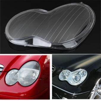 Harga 1pc Headlight Lens Plastic Shell Cover Fit For Mercedes Benz 01-07 W203 C-Class