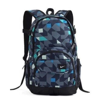 Harga Nike Graffiti Laptop Sport Travel Backpack (Green Blue)