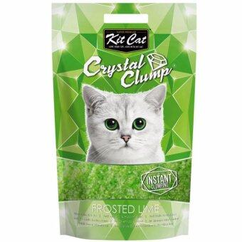 Harga Kit Cat - Crystal Clump - Frosted Lime - 4L