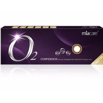 Harga Miacare CONFIDENCE Daily Black Color Contact Lens (-0.50)