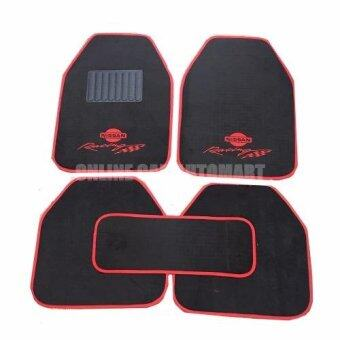 Harga Universal Car Mat , Car Floor Mat (5 Pcs A Set) - NISSAN DESIGN