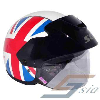 Harga SGV Cruiser UK Helmet (White)