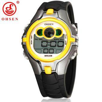 Harga 2015 Top Selling Ohsen Brand Sport Watch Boys Children's Digital Display Silicone Band Fashion Cool Watches Students Wristwatch
