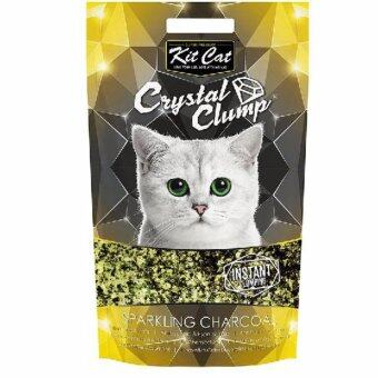 Harga Kit Cat - Crystal Clump - Sparkling Charcoal - 4L