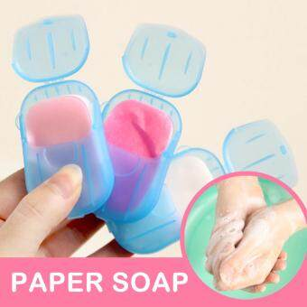 Harga Paper Soap | Pocket Sized Travel Soap