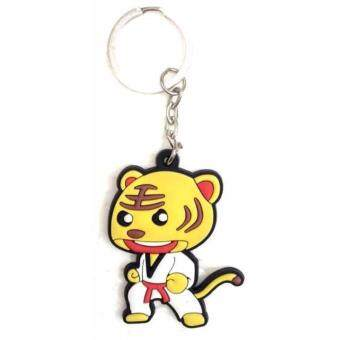 Harga Rubber Taekwondo Karate Silat Kungfu Boxing Cartoon Key Chain