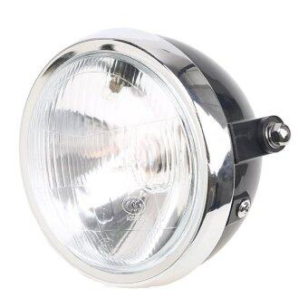 Harga 6'' Round Headlight Headlamp High Low Beam Lamp Fit Kawasaki Triumph BMW Harley