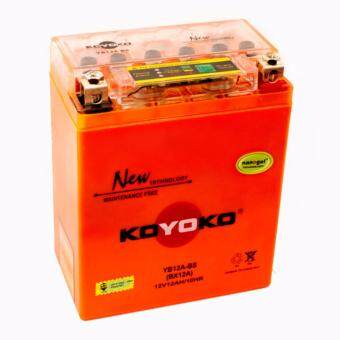 Harga KOYOKO NANOGEL BATTERY YB12A-BS 12V12AH /10HR