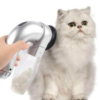 Harga Pet Hair Vac Vacuum Removal Fur Suction Grooming Device Pets Dog Accessories Incredible Cordless Pet Vac Gray