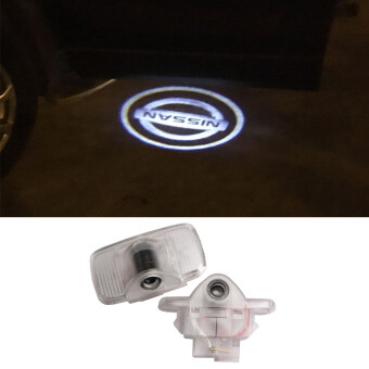 Harga 2X Car Door Light Ghost Shadow Welcome Light Logo Projector emblem For N ISSAN Murano SYLPHY X-Trail Old Teana 04-07year