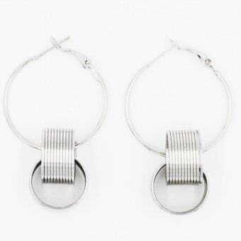 Harga ONLY Silver Charming Lady Earrings by ONLY