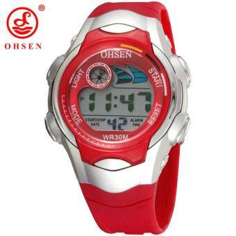 Harga Ohsen Children Watch Sport Diving Watches Quartz Wristwatches Waterproof Jelly Kids Clock Boys Hours Girls Students Wristwatch