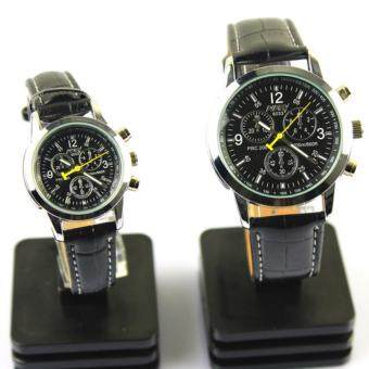Harga Business Couple Leather Watches