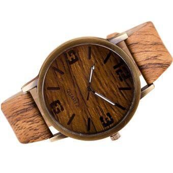 Harga SoKaNo Trendz Wooden Strap Watch- Design 1