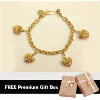 Harga Summerland Korea 24k Gold Korea Plated High Quality Premium Bracelet Gift For Women Girls Fashion Jewelry Korean Style Long Lasting