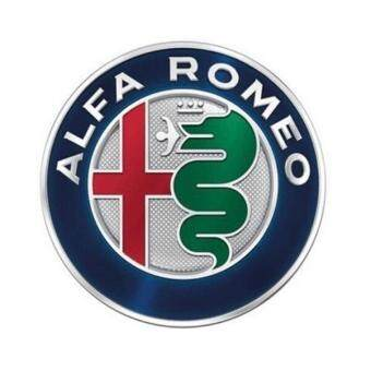 Harga 4pcs ALFA ROMEO Car Logo emblem Badge stickers