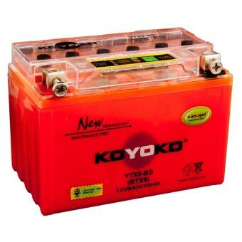 Harga KOYOKO NANOGEL BATTERY YTX9-BS 12V9AH /10HR