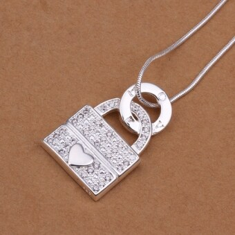 Harga ONLY Lock Our Heart Together Diamond Neklace
