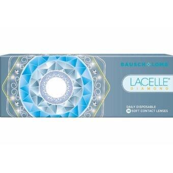 Harga Lacelle Champagne Brown Diamond Color Contact Lens 30s (-1.50)