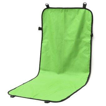 Harga 110*49cm Waterproof Pet Cat Dog Car Seat Cover Protector Mat Blanket Cushion Pad Green