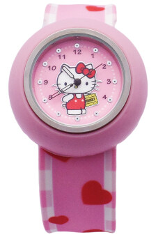 Harga Hello Kitty Slap On Snap Watch HKFR1310-01C (Light Pink)