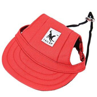 Harga Tailup Small Pet Hat Cat Dog Baseball Cap Cool Doggie TeddyChihuahua Papillon Ornament