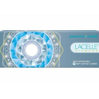 Harga Lacelle Champagne Brown Diamond Color Contact Lens 30s (-3.00)