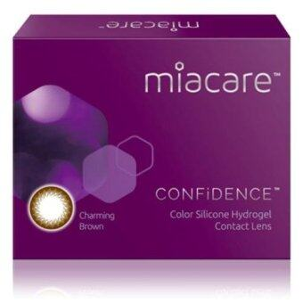 Harga Miacare CONFIDENCE Monthly Mystic Black Color Contact Lens (-3.50)