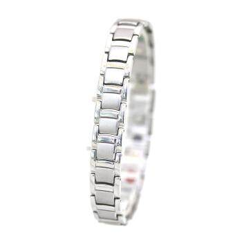 Harga Stainless Steel Ion Magnet Energy Bangle Bracelet EM05 With 4 In 1 Bio Health Benefit (Silver)