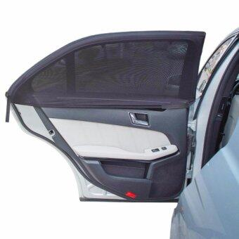 Harga 4 Pack Universal Fit Car Side Window Baby Sun Shade,Double Layer Design, Fits Most Cars(4 Contoured )
